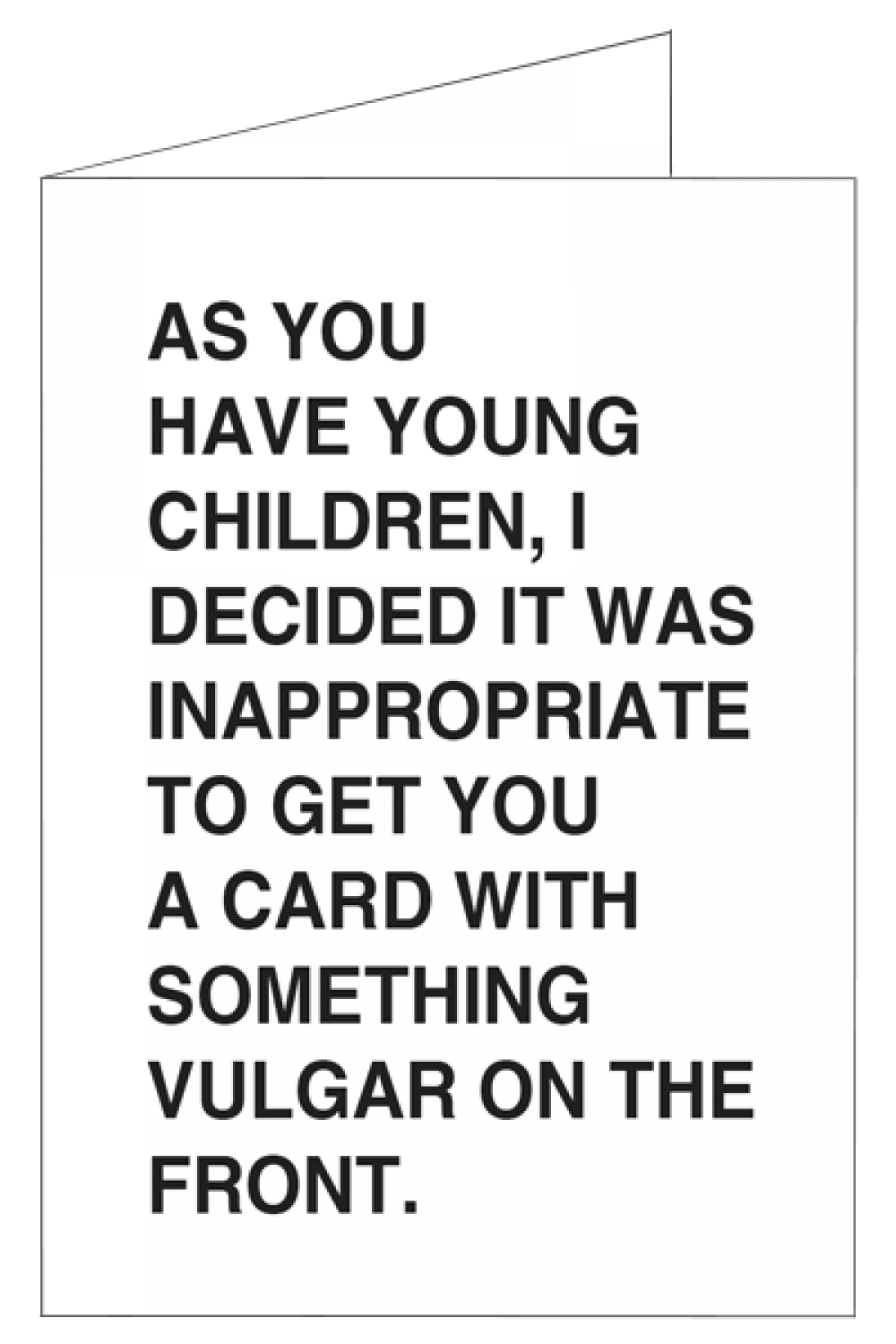 Child Friendly Greetings Card